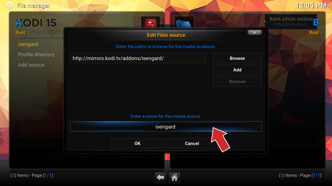 Hướng dẫn cài đặt giao diện Tiếng Việt cho XBMC Kodi