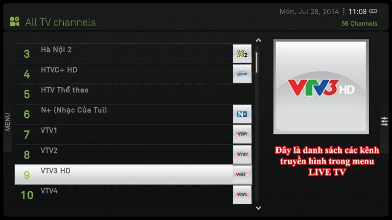 Hướng dẫn xem tivi trên XBMC bằng IPTV và tối ưu XBMC