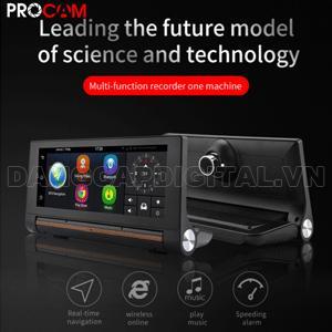 Camera hành trình Procam T98 3G, WIFI, Android 5.1, Camera trước, sau