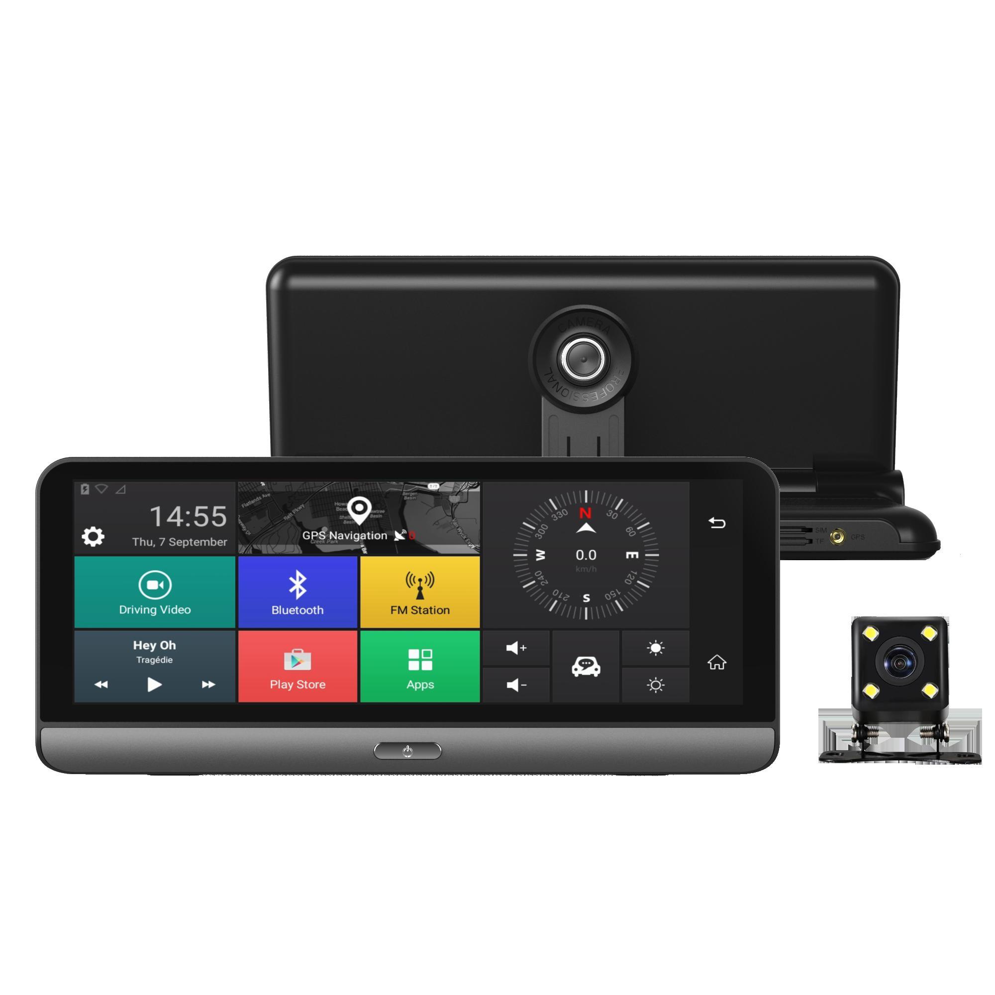 Camera hành trình Procam T98 XS, RAM 2GB, 8 INCH IPS, 4G Model 2019