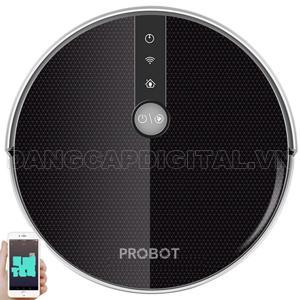 Probot Nelson A6S, Robot hút bụi lau nhà điều khiển qua điện thoại, Alexa, Google
