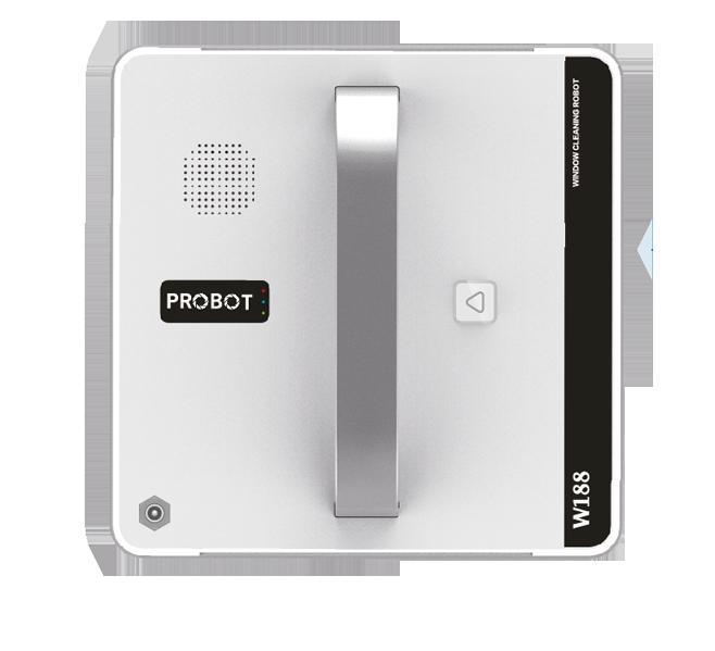 Robot lau kính Probot W188 , điều khiển qua điện thoại